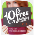 10 Free Cards PLUS Free Shipping!